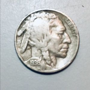 Collectable 1936 Indian Head Nickel!